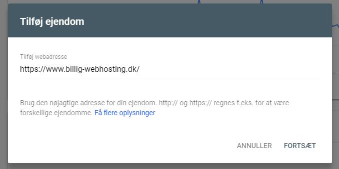 URL ejendom