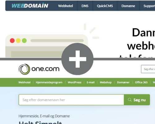 WebDomain, Cliche og Team Internet bliver til One.com
